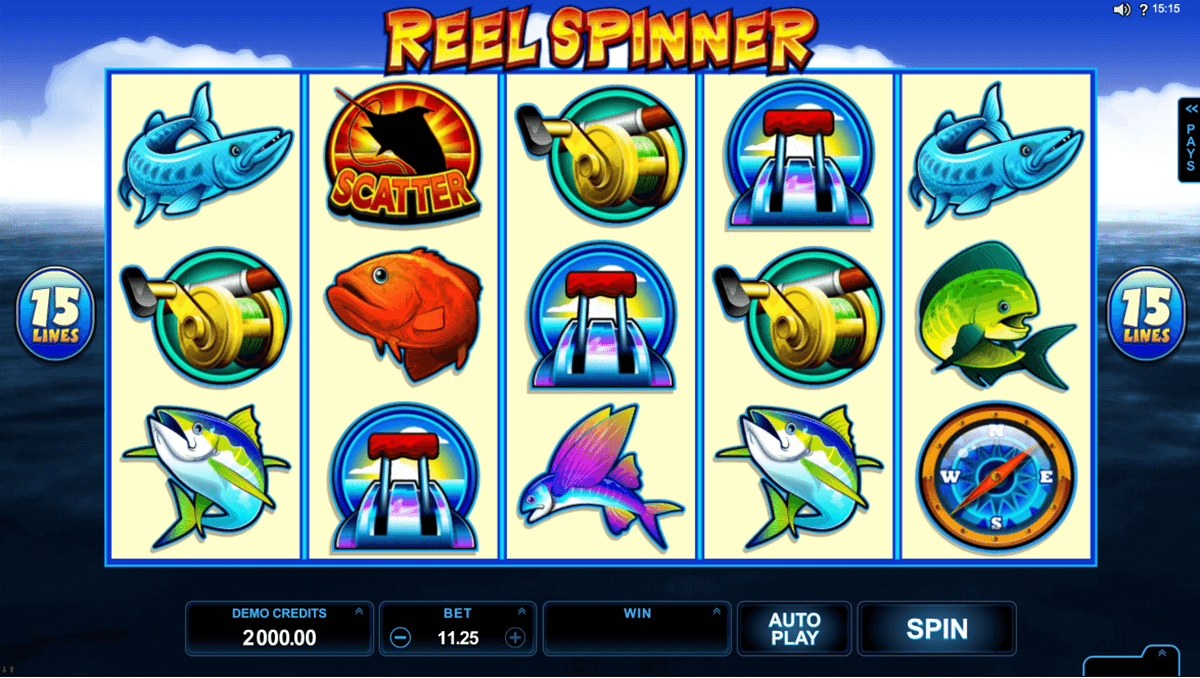 reel spinner microgaming