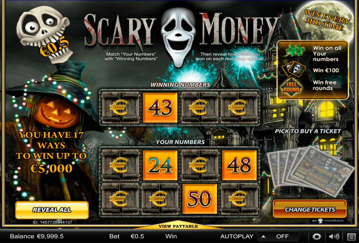 scary money yggdrasil