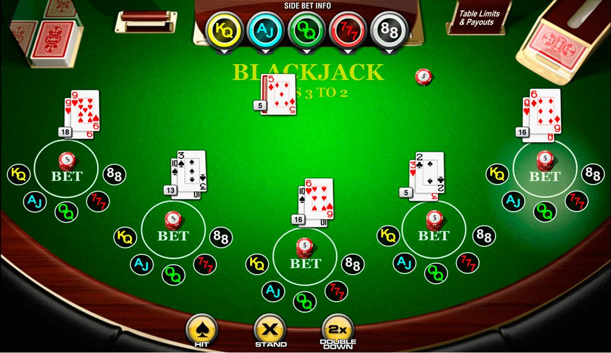 sidebet blackjack amaya
