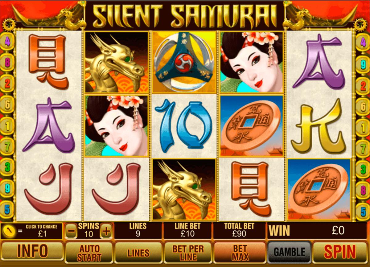 silent samurai playtech