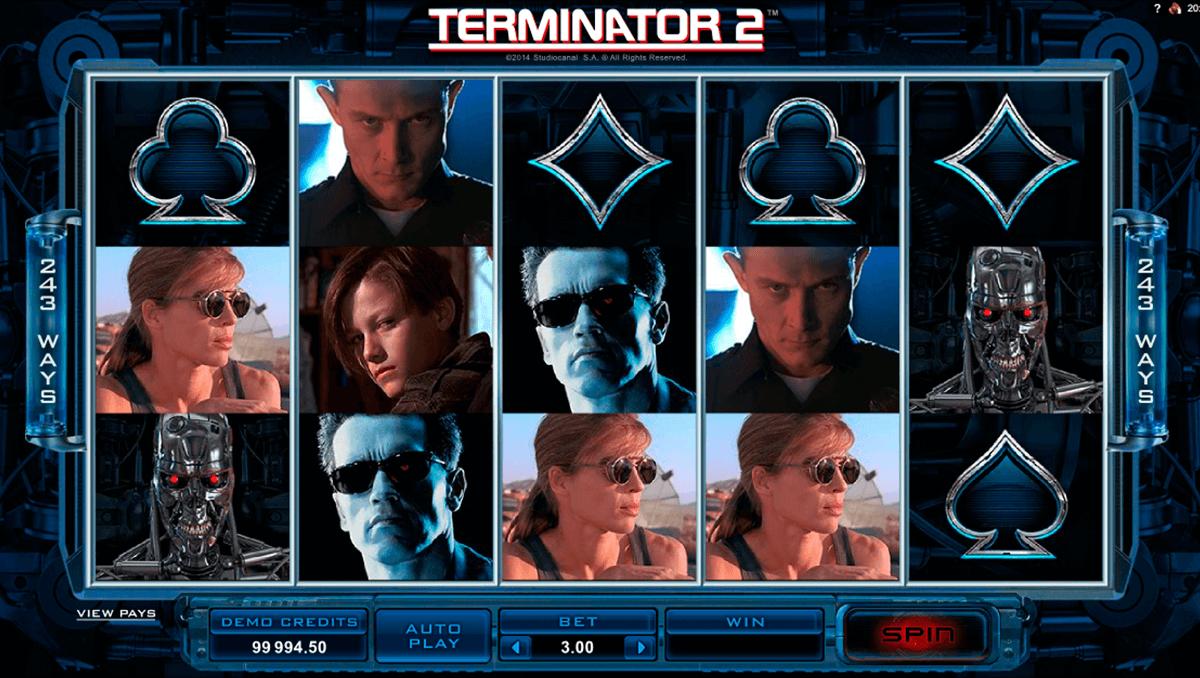 Microgamingの『Terminator 2』オンラインスロットをプレイ!