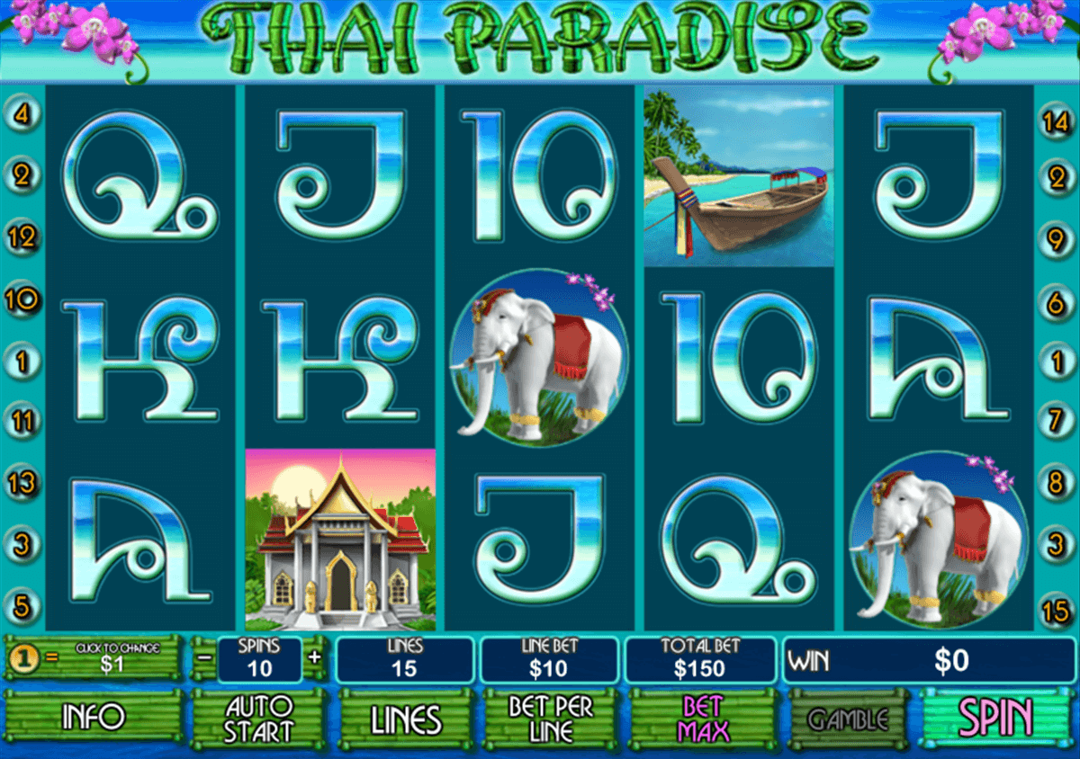thai paradise playtech