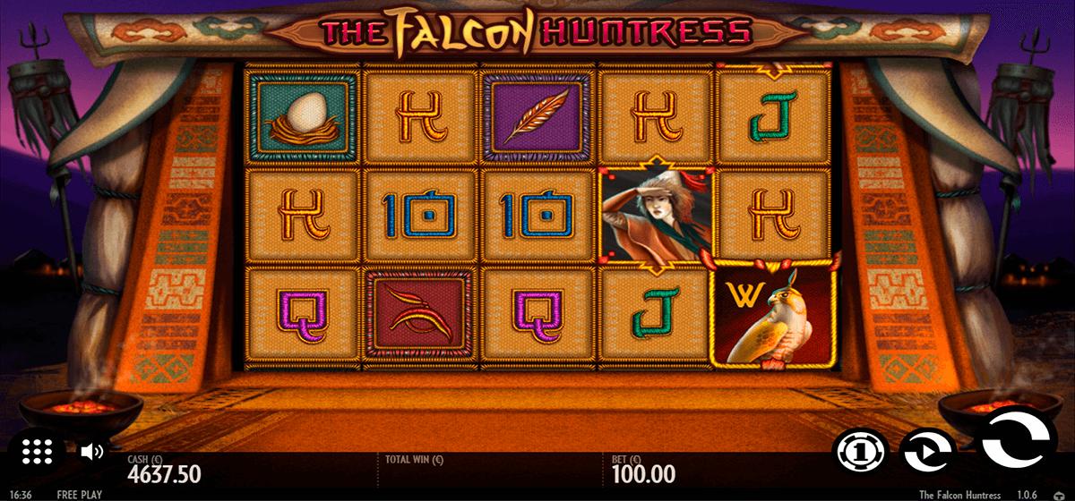 the falcon huntress thunderkick