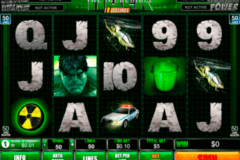 the incredible hulk  lines playtech