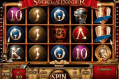 the sword of aleander isoftbet