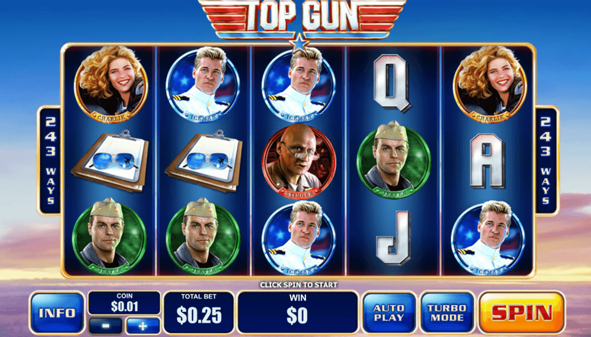 top gun playtech