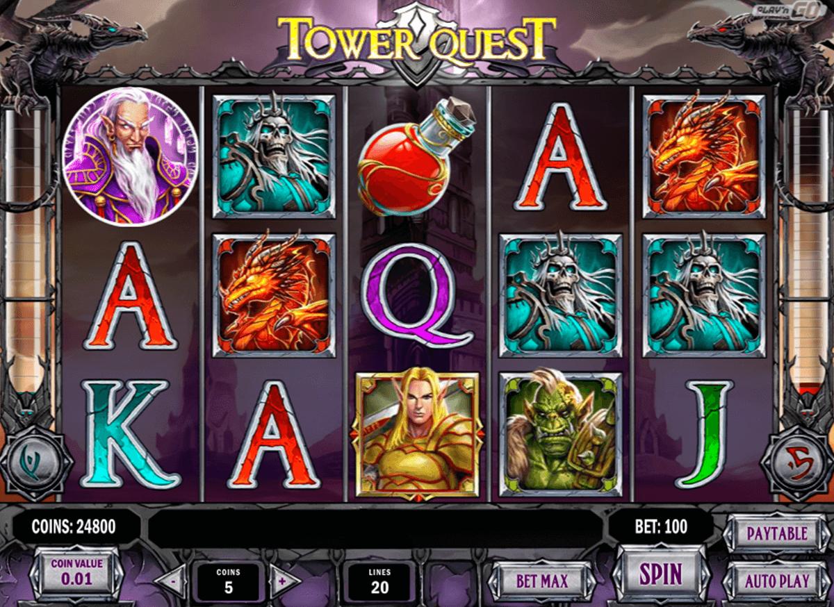 tower quest playn go