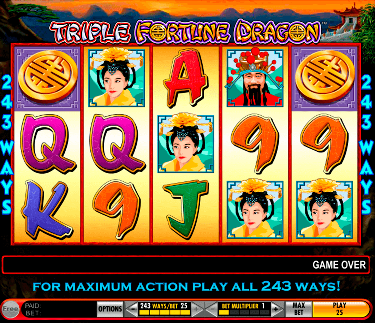 triple fortune dragon igt