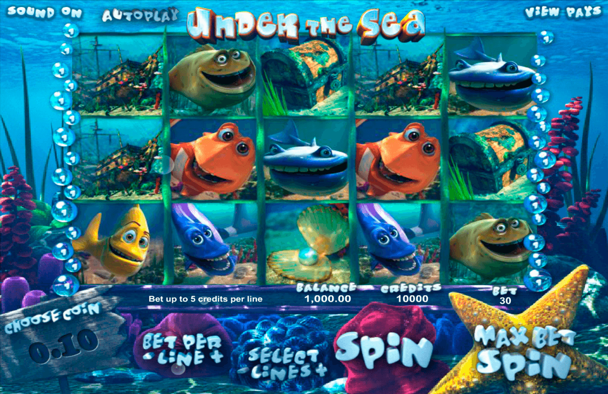 under the sea betsoft