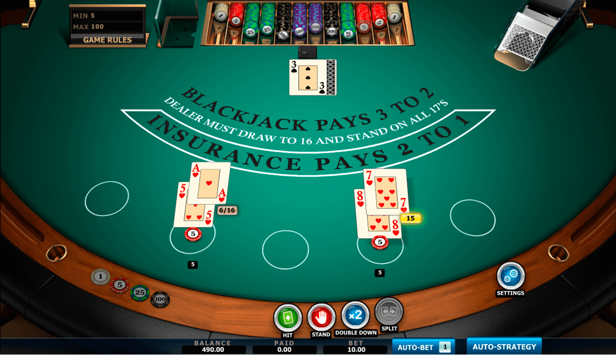 vegas blackjack amaya