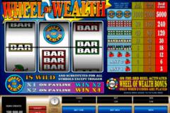 wheel of wealth microgaming