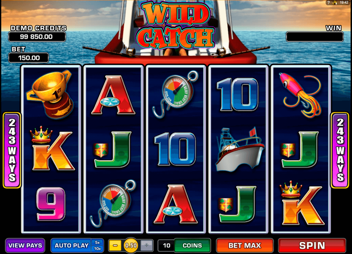 wild catch microgaming