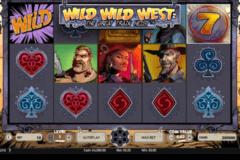 wild wild west the great train heist netent