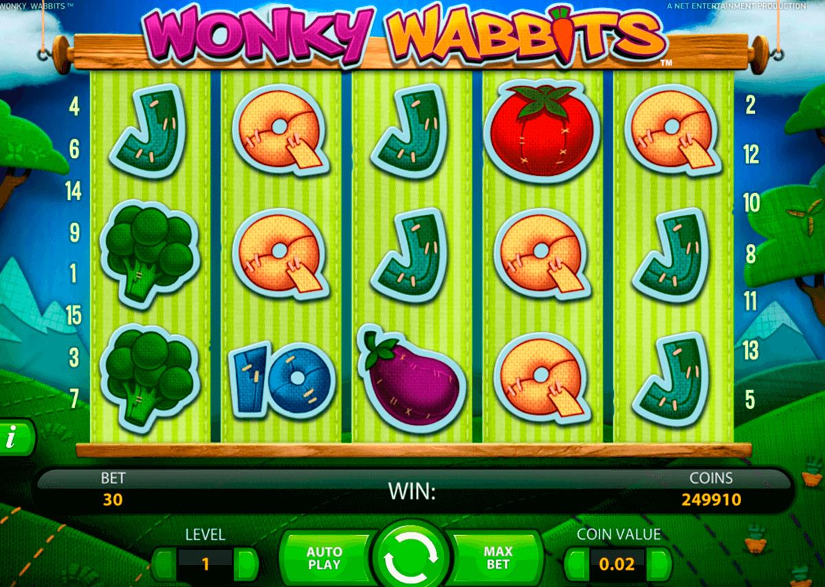 wonky wabbits netent
