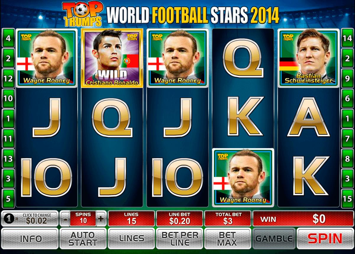 world football stars 2014 playtech